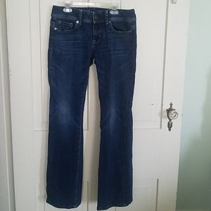 American Eagle size 4 regular original boot jeans